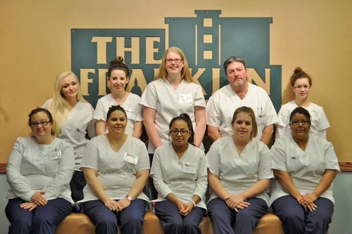 Medical Students at the Franklin Center