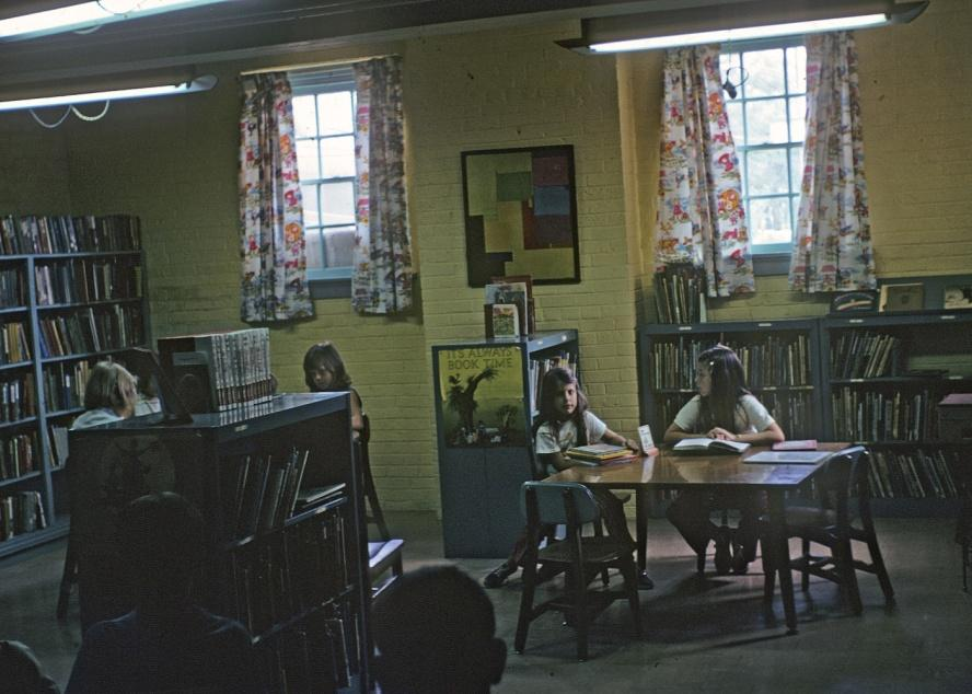 Childrens section of the library